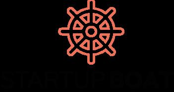 Startup boat logo