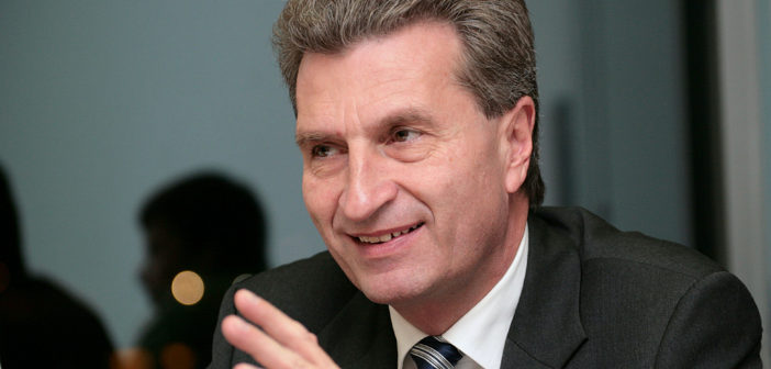 Commissioner Oettinger's insight on the EU long-term budget after 2020: Swift and comprehensive agreement essential